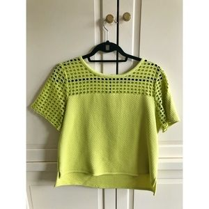 Loft shirt sleeve top